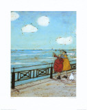 Her Favourite Cloud Prints by Sam Toft