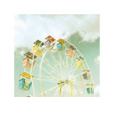 Fairground Wheel Prints by Zee Longenecker