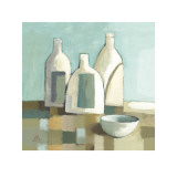 Still Life with Bottles II Prints by Derek Melvile