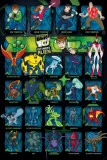 Ben 10 Ultimate Alien (Characters) Posters