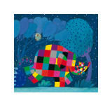 Elmer and the Lost Teddy Plakater af David Mckee