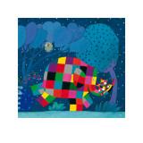 Elmer y el osito perdido Láminas por David Mckee