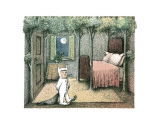 Max's Room Poster by Maurice Sendak