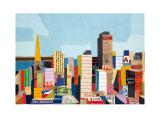 San Francisco Panorama Prints by Andy Burgess