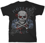 Motley Crue - Pirate Skull T-shirts