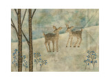 Winter Tale, Deer No.4 Prints by Naoko Stoop