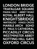 London Transport Bus Blind Posters