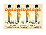 Trooping the Colour Affiche