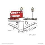 Londres III Posters por Susie Brooks