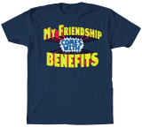 Friendship Benefits T-shirts