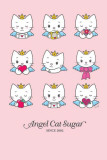 Angel Cat Sugar - 9 Lives Print