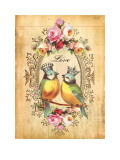 Love Birds Posters by Dollface Design