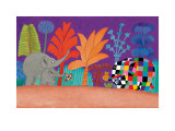 Elmer, Wilber and Teddy Poster by David Mckee