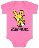 Infant: Happy Bunny - This Ain't Gonna Infant Onesie