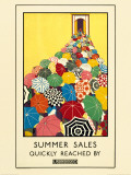 Summer Sales Quickly Reached Print