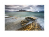 Harris from Taransay, Outer Hebrides Posters by Lee Frost