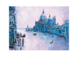 Grand Canal, Venice Art by Colin Ruffell