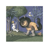 King of all Wild Things Art by Maurice Sendak