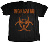 Biohazard - Distressed Logo T-shirts