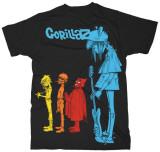 Gorillaz - Rock The House - T shirt