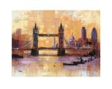 El Puente de la Torre, Londres Arte por Colin Ruffell