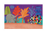 Elmer, Wilber and Teddy Prints by David Mckee