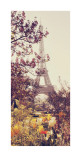 Springtime in Paris Posters par Liz Rusby