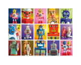 Robot Metropolis Prints by Lauren Floodgate