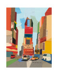Times Square, New York City Prints by Andy Burgess