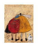 Hugs on the Way Home Poster von Sam Toft