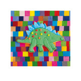 Stiggle Stegosaurus Prints by Lauren Floodgate