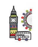 Londres Poster par Jane Foster