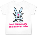 Toddler: Happy Bunny - Look How Cute T-Shirt