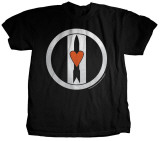 Love and Rockets - Logo Discharge Tshirt