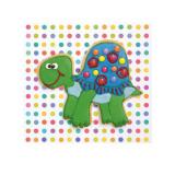 Trundling Tortoise Posters van Lauren Floodgate