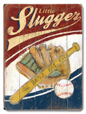 Slugger Wood Sign