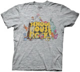 School House Rock - Logo w/ Characters (Slim Fit) T-shirts