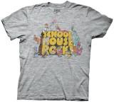 School House Rock - Logo w/ Characters (Slim Fit) T-paidat