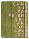 Came but for Friendship II Wood Sign