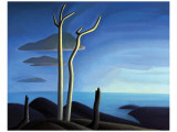 Lake Superior Premium Giclee Print by Lawren S. Harris
