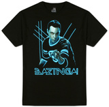 Big Bang Theory- Glowing Sheldon Tshirts