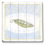 Sweet Pea Wood Sign