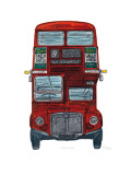 Routemaster Print by Barry Goodman