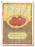 Tomatoes Wood Sign