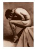 Nude Male Giclee-tryk i høj kvalitet