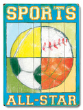 Sports Wood Sign