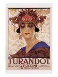 Puccini- Turandot Reproduction giclée Premium