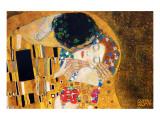 Le Baiser, vers 1907, détail Reproduction procédé giclée Premium par Gustav Klimt