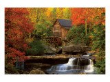 The Old Mill Premium Giclee Print