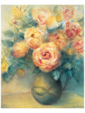 Roses Premium Giclee Print by Edward Armitage
